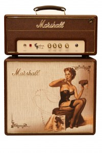 Marshall Stack Custom Pin up Serie 5 Watt