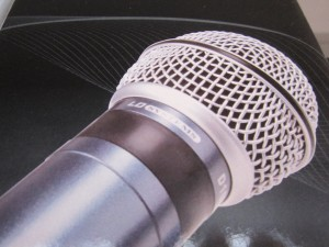 Mikrofon Gesangsanlage