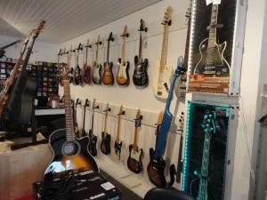 E-Gitarren bei Guitar Shark