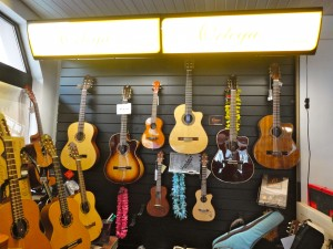 Ortega Akustikgitarren und Ukulelen